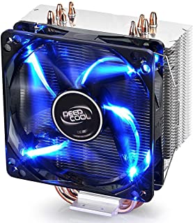 DEEPCOOL CPU Cooler GAMMAXX 400 Blue LED 4 Heat Pipes