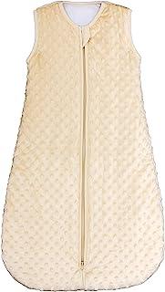 BABYINABAG 保暖绗缝冬季款婴儿睡袋和袋,毛绒圆点,2.5 Togs 适合婴幼儿(小号(3 - 11 个月))