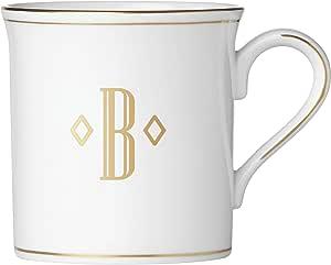 Lenox 联邦金块交织字母餐具 字母 B 874355