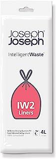 Joseph Joseph 智能废物处理系列 Bio垃圾袋,50袋装,4L,透明