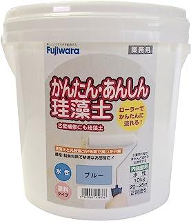 藤原化学 简单安心硅藻土 蓝色 10kg