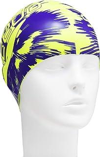 Speedo 速比涛 泳帽 硅胶 印花 泳帽 游泳 SE12051