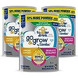 Similac 雅培 Go & Grow Non-GMO 幼儿配方奶粉 3段 1-3岁 3罐装 1.02kg*3(含铁…