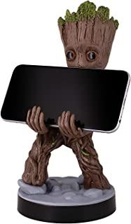 精致游戏电缆家具 - 幼儿Groot - 电缆家伙手机和控制器支架
