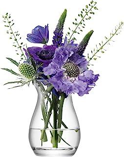 LSA International FW26 迷你透明花卉花瓶,高9.5厘米