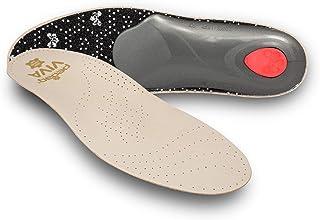 PEDAG VIVA 皮革带 longitudinal ARCH , metatarsal PAD 和跟靠垫,棕褐色 Original Viva Us M10/EU43 1