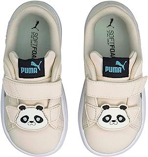 PUMA - 婴儿 Smash V2 夏季动物 V 鞋 Eggnog-puma Black 7 Toddler