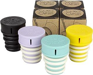 CuloClean 便携式坐浴盆,适用于厕所或旅行。兼容每个瓶子。小巧、生态、迷你、老人、喷雾器、生物、个人、手持式(CuloClean,4 种颜色)