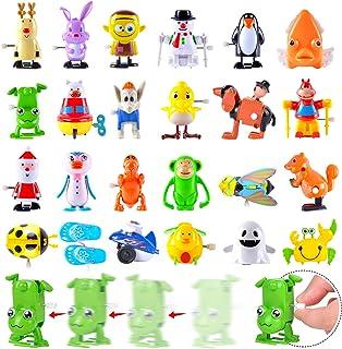 FUNNISM 24 件装迷你发条玩具套装,各种风格散装发玩具,适合幼儿和儿童,学校交换礼品,课堂*品,礼品袋填料,生日派对礼品,派对礼品用品
