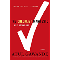 The Checklist Manifesto: How to Get Things Right (English Ed…