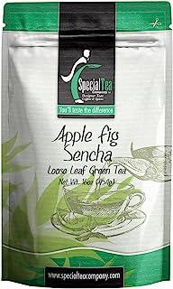 Special Tea 苹果无花果 煎茶 绿茶, 452.8克