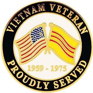 美国*越南退伍军人骄傲服务 2.54 厘米翻领别针