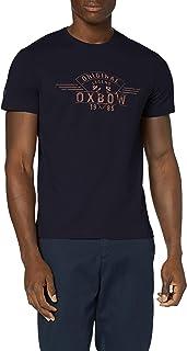 OXBOW M2tannat 男士 T 恤 S 深*蓝