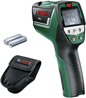Bosch 博世 红外线带示温墙壁探测器 PTD 1(2节AA电池,装在保护袋中)