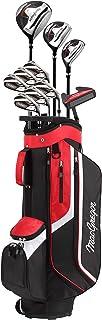 MACGREGOR 男士 CG3000 男式高尔夫包套装 & 高尔夫球包高尔夫球包套装,黑色/红色,6-SW