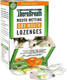 TheraBreath 口腔润湿含片,柑橘薄荷100片(2件装)