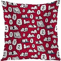 Lefolen 抱枕枕套 史努比 各种*风格 趣味设计枕套 装饰农舍 家居沙发 送给男女男孩 女孩 卧室 客厅 45.7…