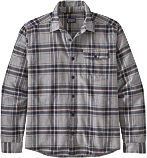 Patagonia 男式 M's Lw Fjord 法兰绒衬衫