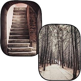 Lastolite by Manfrotto 1.5 x 2.1 米透视可折叠背景 - 石拱形/Grecian StepsLL LB5740 Stone Steps/Winter Trees