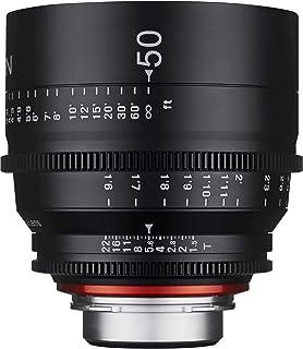 Xeen 15050t1.5 °C T1.5 Cine 镜头 EF 连接器 50 mm 黑色