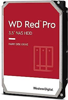 Western Digital Red Pro 6TB NAS内置硬盘驱动器-7200 RPM级,SATA 6 Gb / s,CMR,256 MB高速缓存,3.5英寸-WD6003FFBX