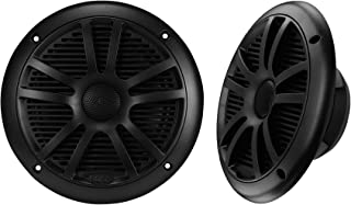 BOSS Audio Systems MR6B 180 Watt Per Pair, 6.5 Inch , Full Range, 2 Way Weatherproof Marine Speakers Sold in Pairs, BLACK