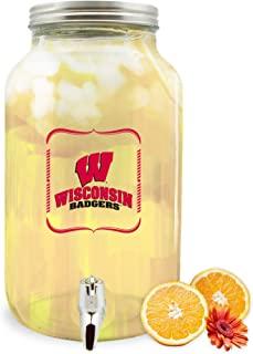 Duck House NCAA 威斯康星大学獾队玻璃饮料分配器