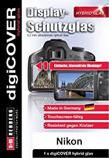 digiCOVER 混合玻璃屏幕保护膜,适用于 Nikon 尼康 DL24-500 相机