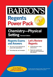 Regents Chemistry--Physical Setting Power Pack Revised Edition (Barron's Regents NY) (English Edition)
