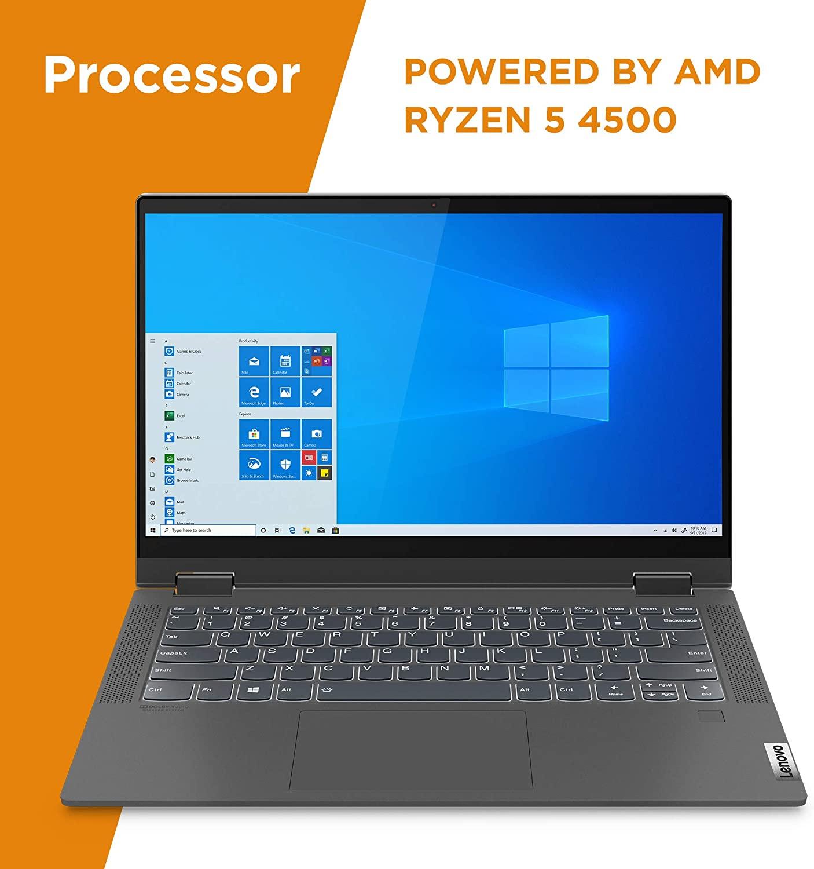 Lenovo 联想 Flex 5 14英寸笔记本电脑(R5-4500U、16GB、256GB SSD)