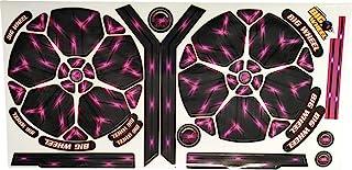 原装大轮替换贴纸 - 电动粉色贴纸板