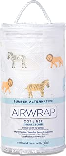 Airwrap 双面婴儿床保险杠替代游猎三月多色