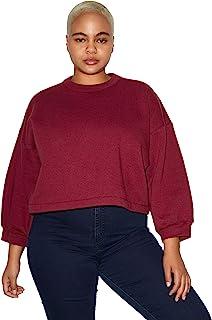 American Apparel 女式 Flex 3/4 气球袖上衣