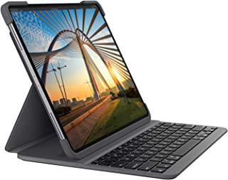 Logitech 罗技 SLIM FOLIO PRO 背光蓝牙键盘保护壳 适用于 iPad Pro 12.9英寸(3和4代) - 石墨色