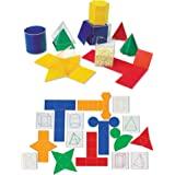 Learning Resources 可折叠立体几何套装