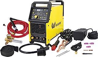 2020 Weldpro 数字 TIG 200GD ACDC 200 Amp Tig/Stick 焊接器,带脉冲 CK 17 全球超柔手电筒/带触发开关,双电压 220V/110V
