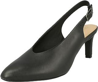Clarks 其乐 女款 Calla 紫罗兰款 后带挑空式高跟鞋