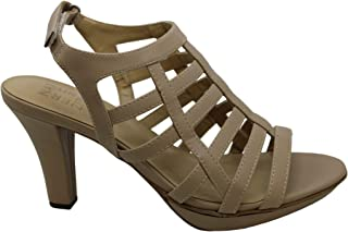 Naturalizer Womens Nella Leather Open Toe Casual Strappy Sandals US