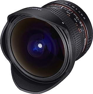 SAMYANG 1112103101 12 毫米 F2.8 镜片 适用于尼康 AE1112104101  Pentax 黑色
