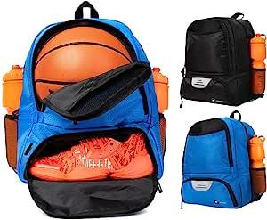 ERANT 篮球背包带球隔层 - 篮球包带球夹 - 篮球包背包 - 男孩篮球包 - 篮球背包