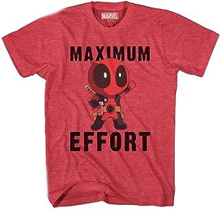 Marvel 死侍奇比 Maximum Effort 男式 T 恤