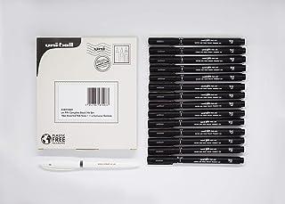uni-ball 针黑色绘图笔精细笔套:14 件各种笔尖尺寸 + 1 x *凝胶,238212601