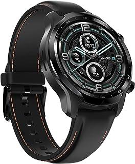 TicWatch Pro 3 GPS 男士女士智能手表,Google Wear OS 双层显示屏 2.0,电池寿命长