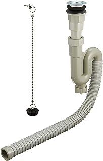 SANEI 【带有调节器的S喇叭软管】地面排水用 PH786-32