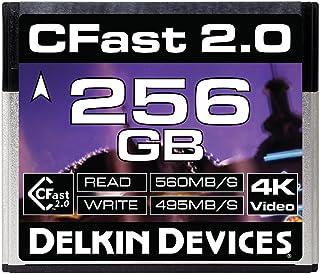 Delkin Devices 256GB Cinema CFast 2.0 内存卡 (DDCFST560256)