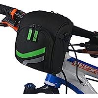 ROCKBROS自行车包车把包山地车车首包车头包挂包前包骑行装备配件 (黑色)