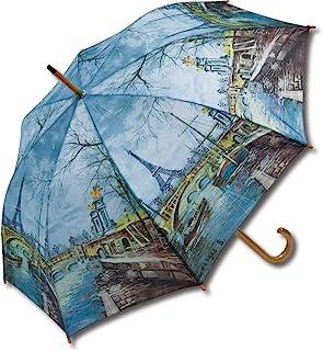 木制JUMP 雨伞 名画系列 埃菲尔铁塔