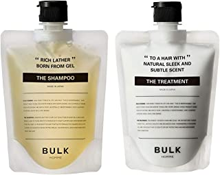 BULK HOMME THE SHAMPOO 200克&THE TREATMENT 180克