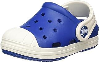 Crocs 卡骆驰 防卫兵小克骆格儿童洞洞鞋 Black/Oyster 6 M US Toddler Bump It Clog Kids