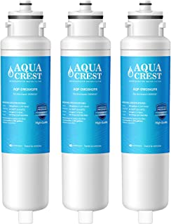 AQUACREST DW2042FR-09 冰箱滤水器,兼容 Daewoo DW2042FR、Kenmore 46-9130、DW2042FR-09、Aqua Crystal DW2042F-09(3 件装)